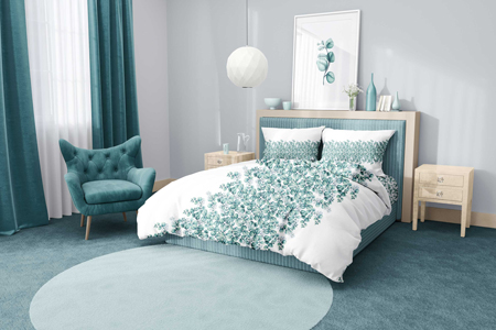 Eucaliptus pattern design for home